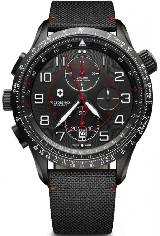 Мужские часы Victorinox Swiss Army AIRBOSS Mechanical Chrono MACH 9 V241716