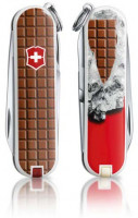 Складной нож Victorinox CLASSIC SD Chocolate 0.6223.842